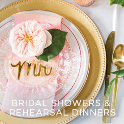 Bridal Showers and Rehearsal Dinner venues