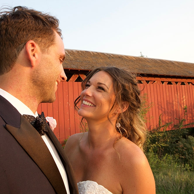 Teri + Patrick - Go glamping with this eclectic country wedding.