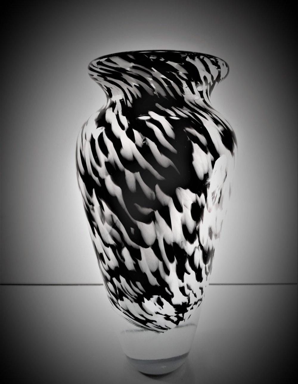 Jessica and Josh's Vase - Opal Black and Enamel White (3).jpg