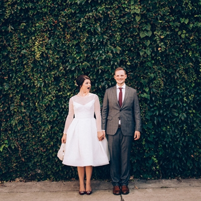 Chelsey + Wesley - Get inspired by this East Village DSM wedding.