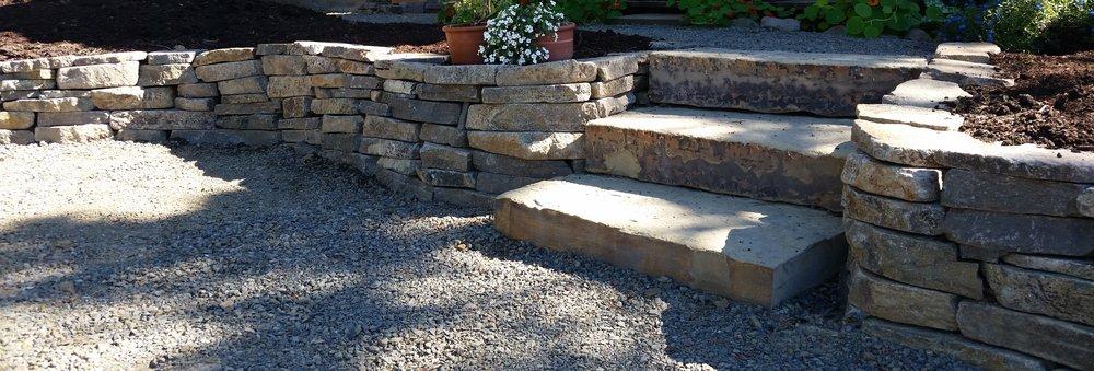 """Tuscan Treads"" Slab Stairs"