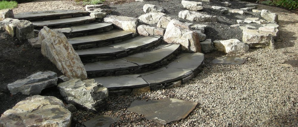 Flagstone Steps   Bluestone