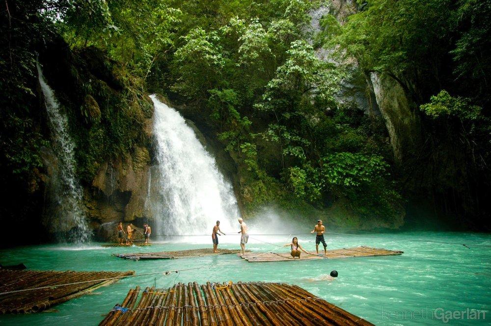 Kawasan Falls, Moalboal