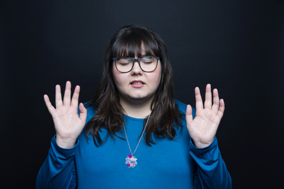 Welcome. - My name is Sofie Hagen. I am a stand-up comedian. I also have two podcasts. I also write. I have won some awards, like Edinburgh Best Newcomer in 2015. Thank you for visiting my website. Scroll down if you want to see what I'm up to. The most efficient way of staying up to date is by signing up for my newsletter.