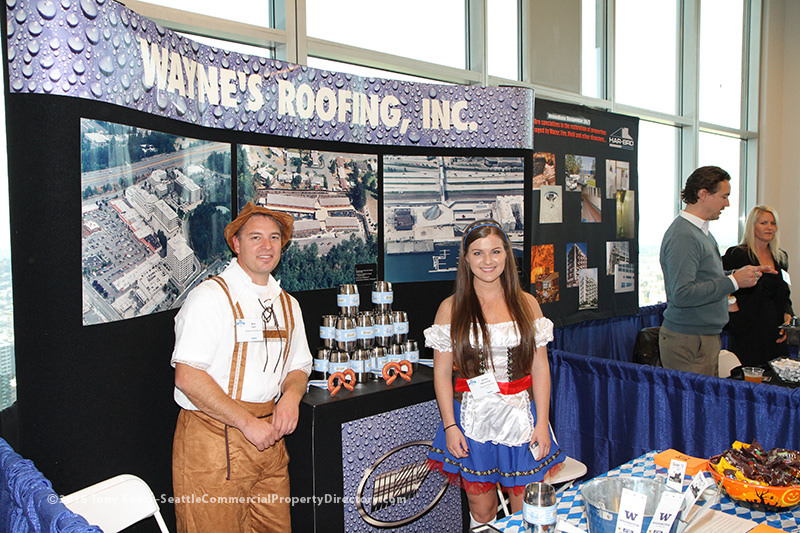 Wayne's Roofing 2015 BOMA Seattle Trade show