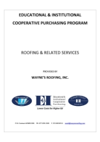 Read more on our professional roofing services through E&I/NAEP here