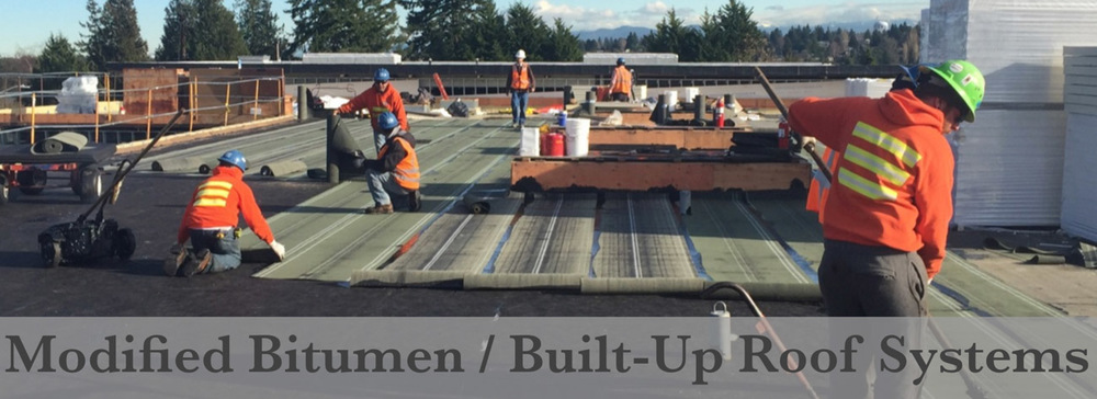 Modified Bitumen Built Up Roof Systems Wayne S Roofing