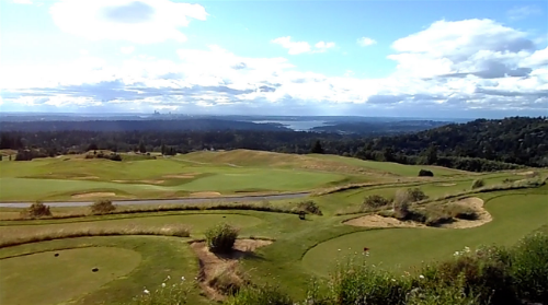 The view over the Golf Club at Newcastle at the 4th Annual BOMA Golf Tournament last week.