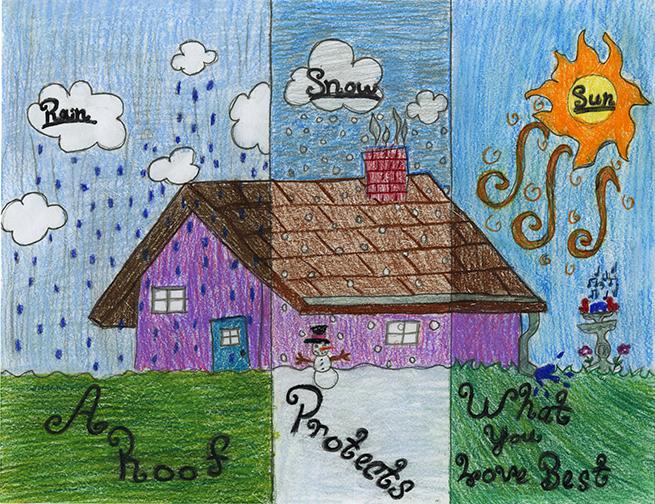 Group 2 Jozey Donze Grade 4 Waynes Roofing, Sumner, Wa.