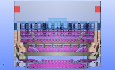 3D model of Auditorium