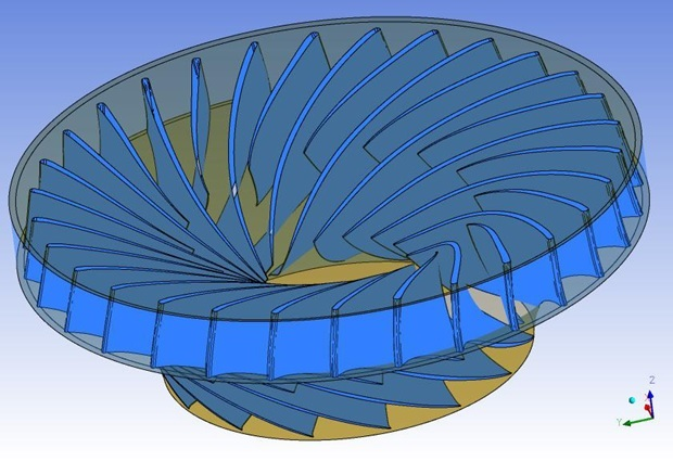 "Isometric view of ""Francis Turbine.jpg"