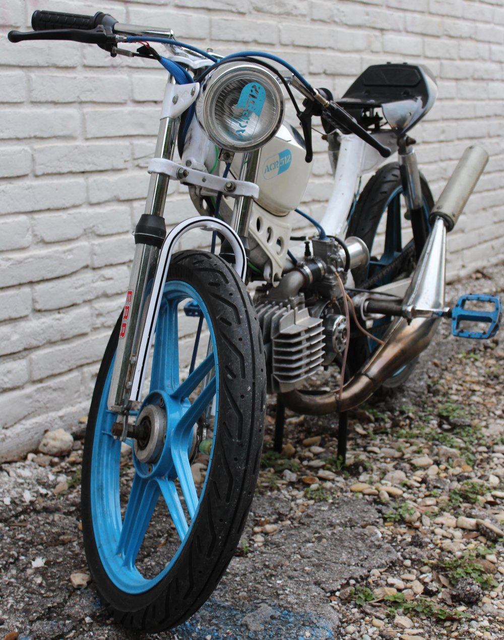 JC Penneys Pinto Custom Race Moped