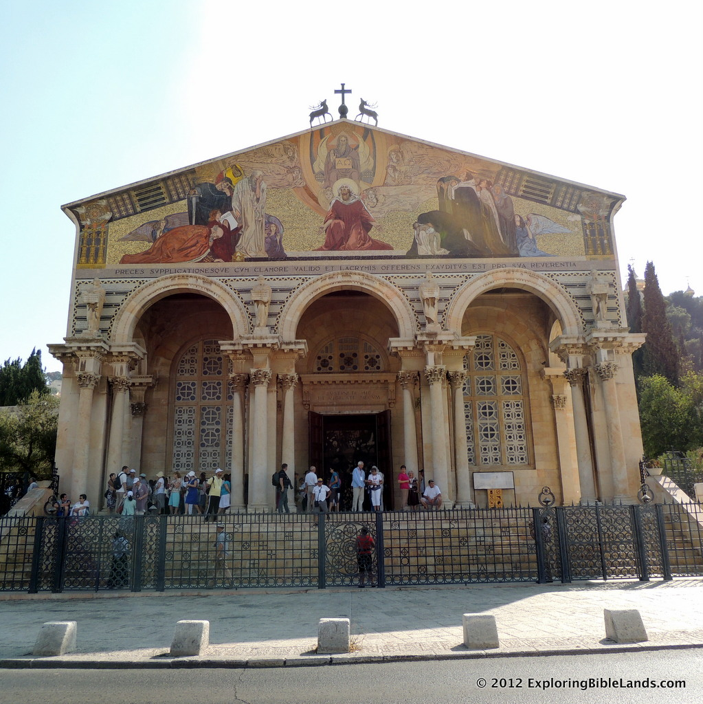The Church of All Nations in Jerusalem