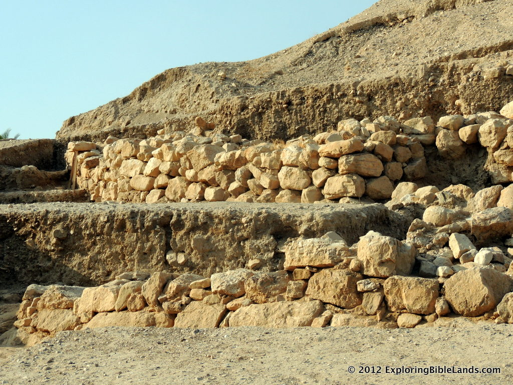 Archaeological work at Tell es-Sultan, otherwise known as ancient Jericho.