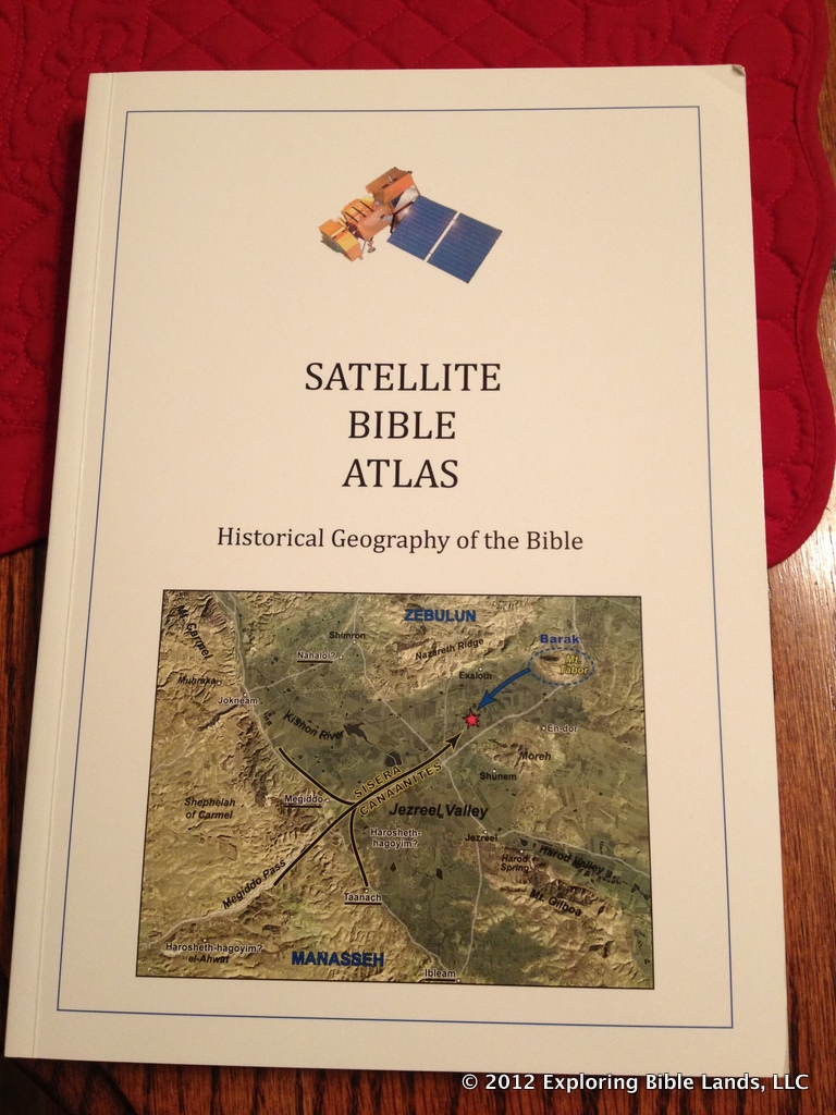 The Satellite Bible Atlas by Bill Schlegel and Todd Bolen