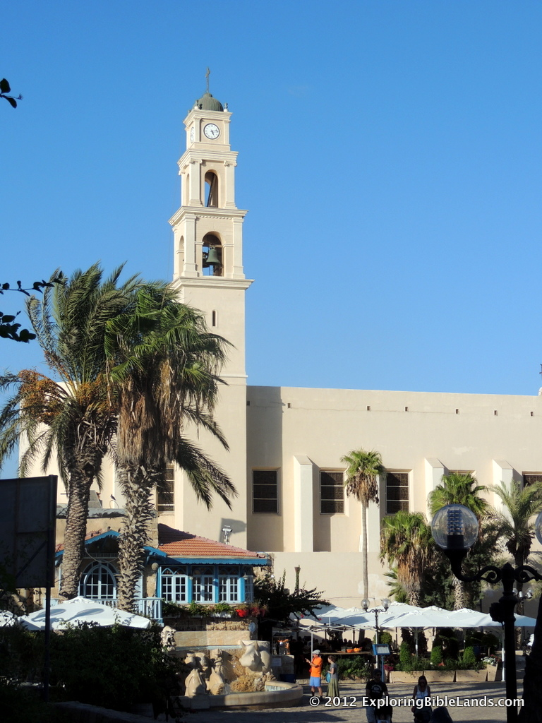 St. Peter's Church, located in Old Jaffa.