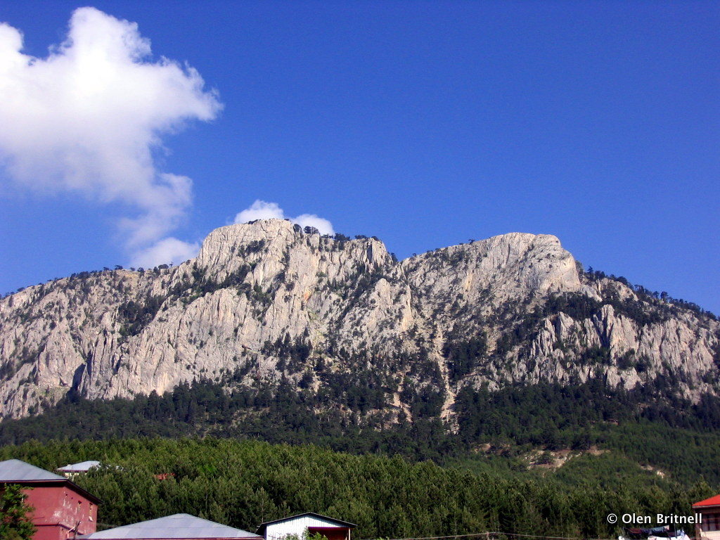 The rugged Taurus Mountains.