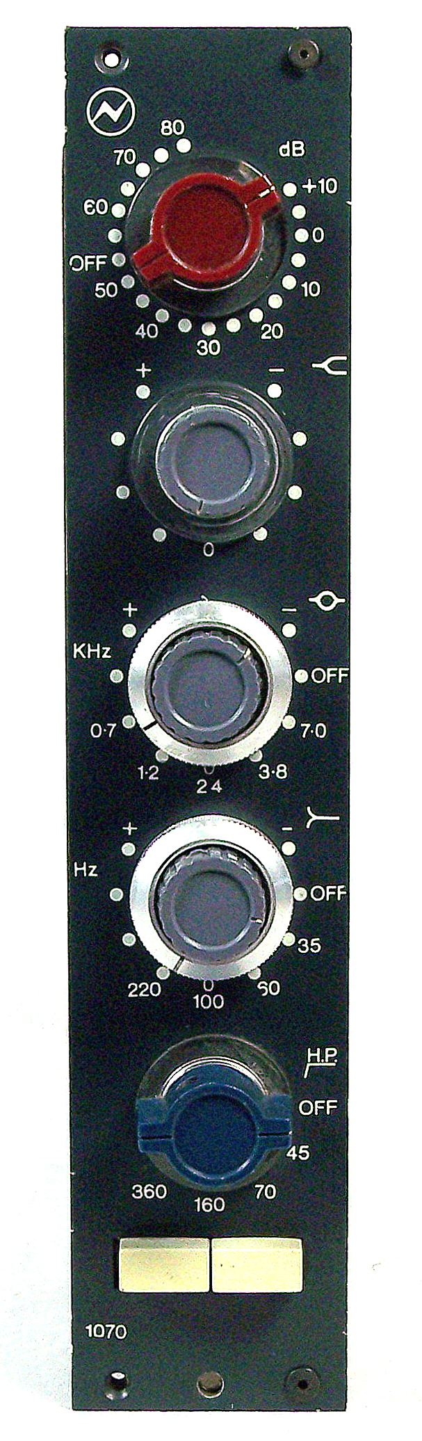 Neve's 1070 - Single Input for both Mic and Line signals
