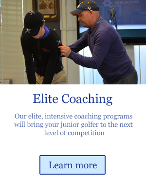 elite coaching for junior golfers