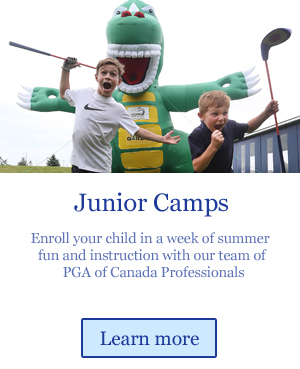 junior golf camps for summer golf instruction