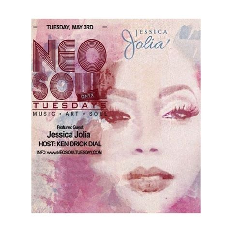 Catch me & @bigmike2987 this Tuesday in #SanDiego at @neosoultuesdays! #JessicaJolia