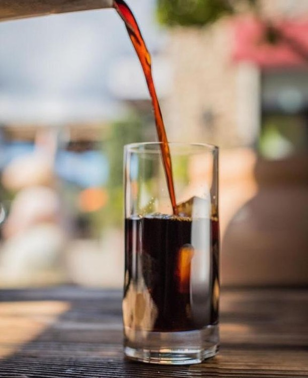 In need of a mid-day pick-me-up? Tifa isn't just for gelato and chocolate, they also have coffee drinks! ☕️ This iced cold brew is perfect for a hot day! . . . #agoura #malibu #shop #sale #boutique #store #la #coffeetime #cafe #coffeelover #coffeeaddict