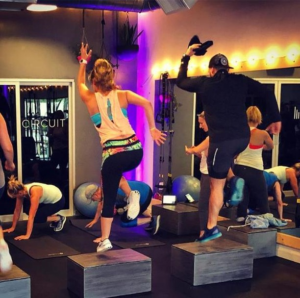 Studio BPM is a fun and energetic way to get your heart rate up! Nobody wants to workout, but their classes make it fun. 🏋🏼‍♂️👏🏼 . . . #exercise #abs #muscle #cardio #fitnessaddict #strong #gymlife #instafit #getfit #fitnessmotivation #agoura #malibu