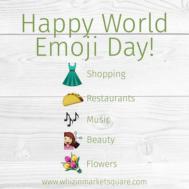 Wondering what all you can find at Whizin Market Square? Look no further! 😏 #WorldEmojiDay . . . #emoji #emojilove #unique #shoplocal #supportlocal #agoura #malibu #community
