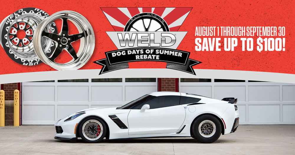 Weld Dog Days of Summer Rebate 2016