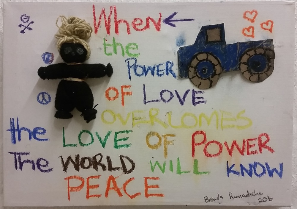 Power + Love BY Brenda Ramadiehe