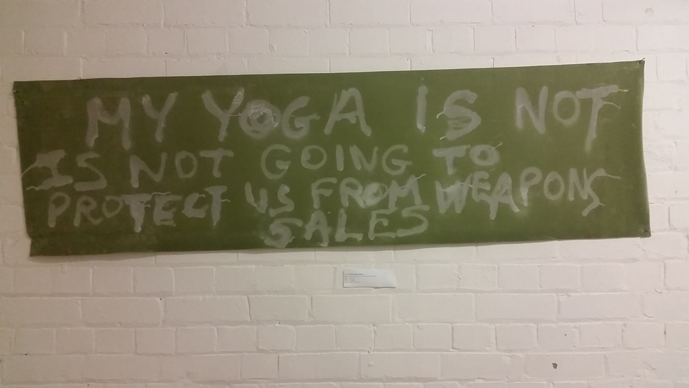 My Yoga is not going to protect us from Weapons BY Thierry Geoffroy COLONEL
