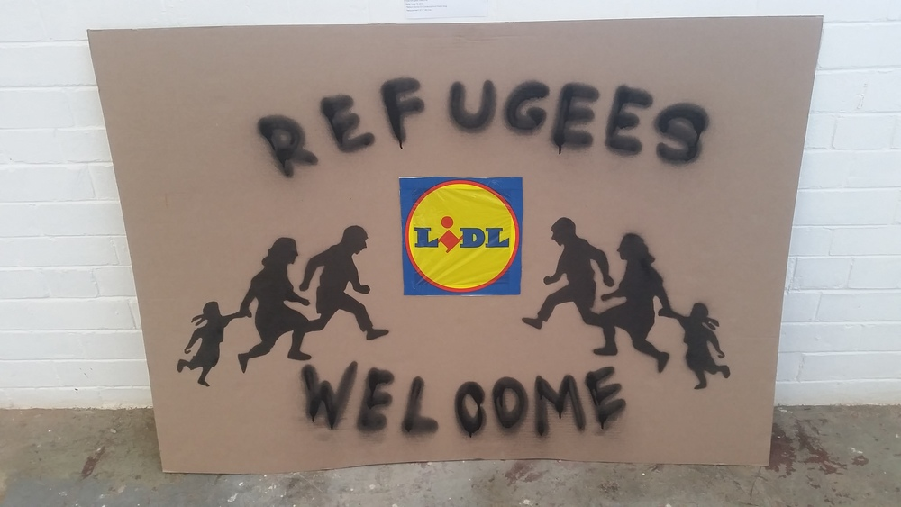 Refugees Welcome BY Victor Ash