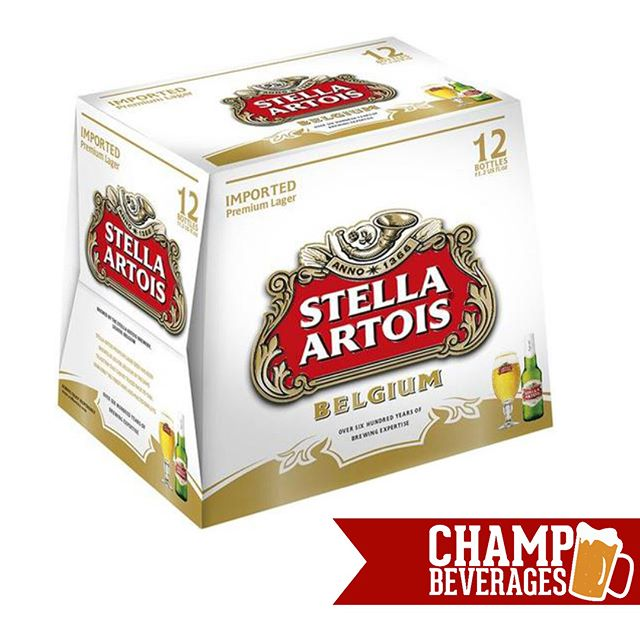 Shop the latest #sales going on NOW at Champ Beverages!  Stella 12 Pack Bottles $14.99 (+tax & dep) Goose Island IPA 12 Pack Bottles $14.99 (+tax & dep) Vermont Pure Water 5 gallons $7.99 (+tax & dep) Blue Moon 12-pack Bottles $15.99 (+tax & dep) Poland Spring Water 24 pack 16 oz $4.99 (+tax & dep)