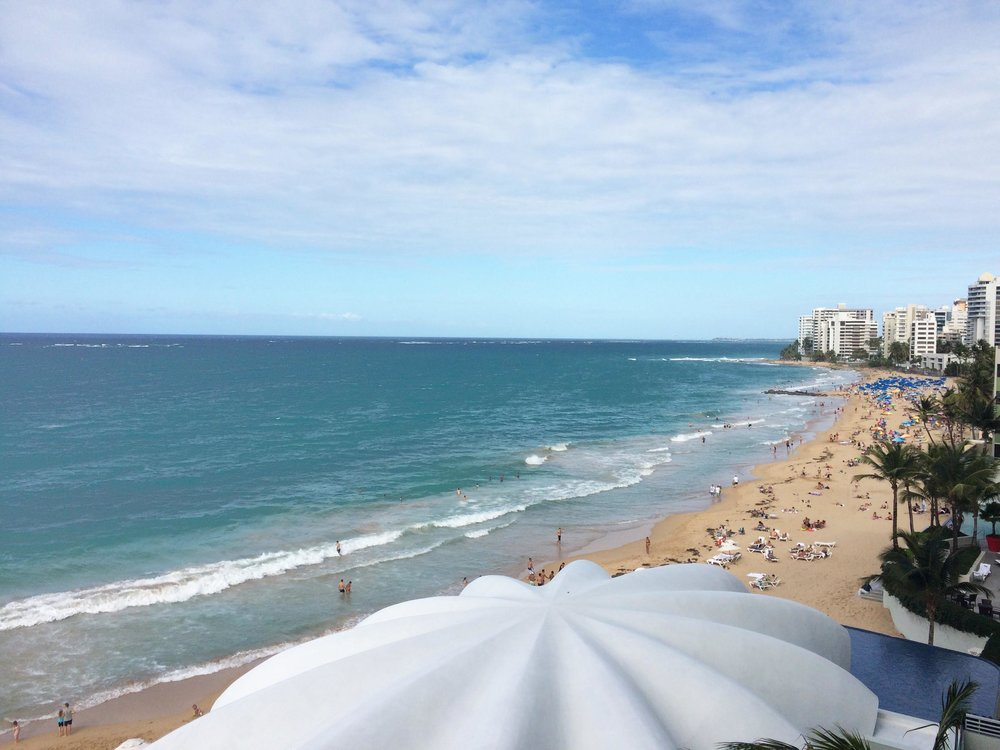 View from our room - San Juan, PR