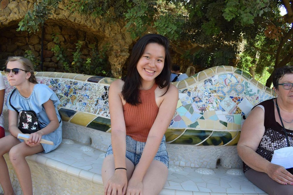 Jenny Lu, CC '19, Study Abroad (Art & Music Humanities, Paris)