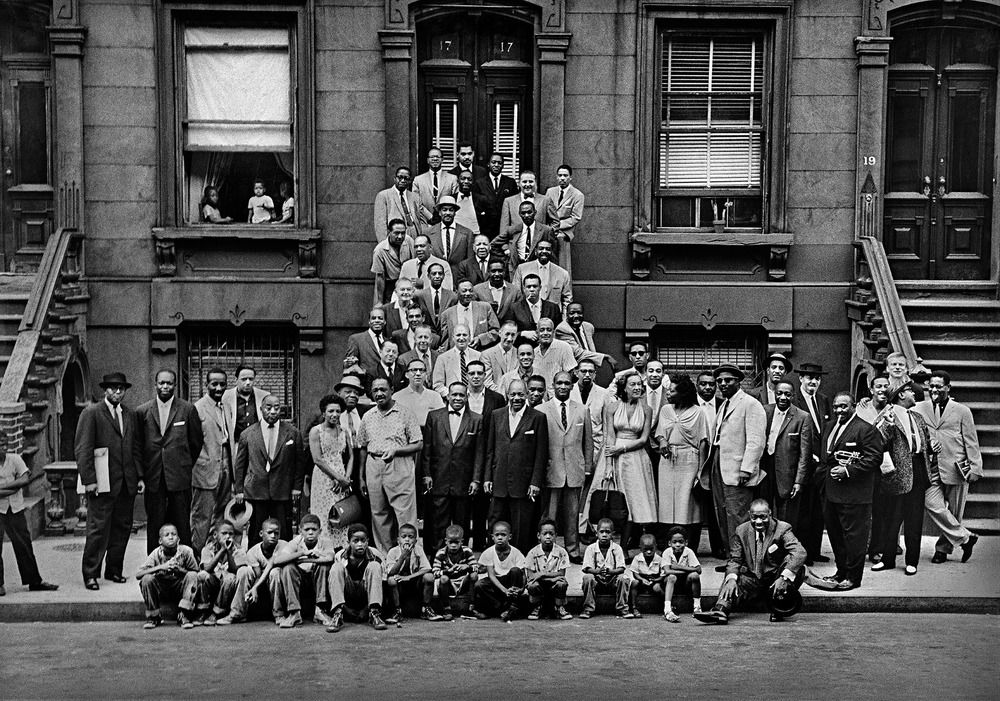 A Great Day In Harlem 1958 by Art Kane