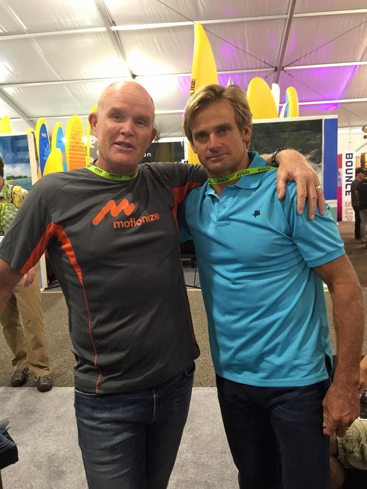 Oscar and Laird Hamilton