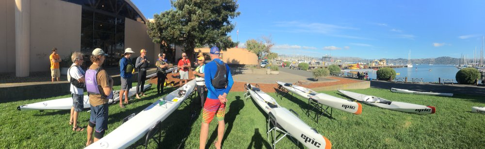 Photo by John Dye: ACA National Paddlesports Conference. Surfski Educational session.