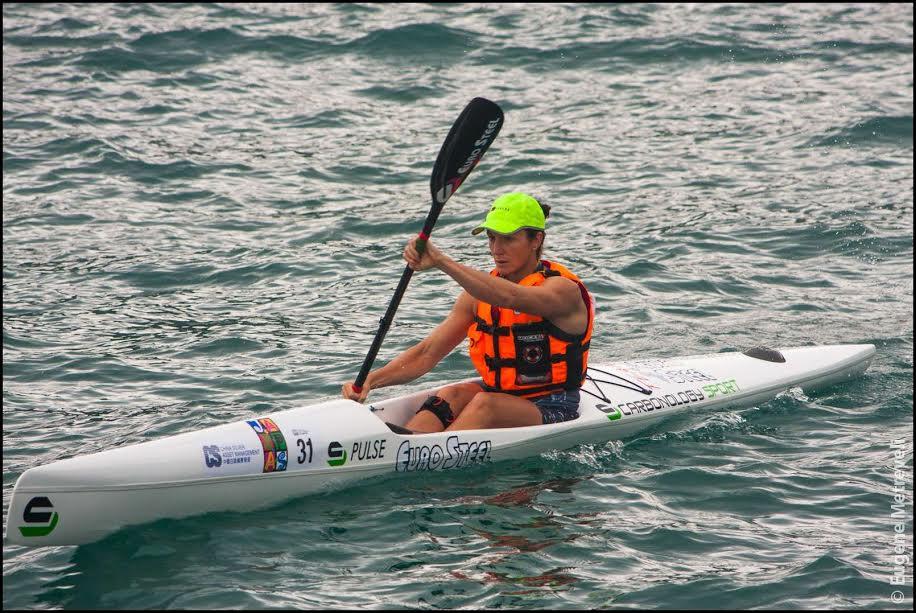 Hayley Nixon at the Hong Kong Dragon Race