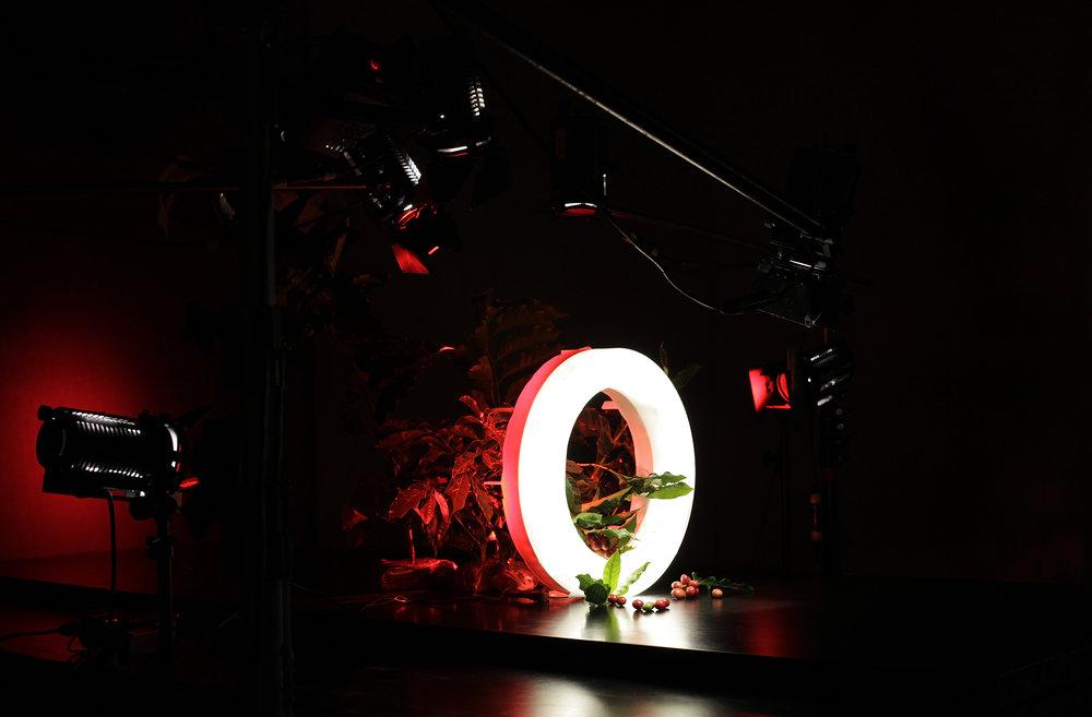 *Objetos e luminária em m ockup  para testes.