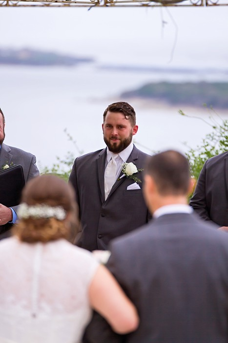 That look from the groom says it all!