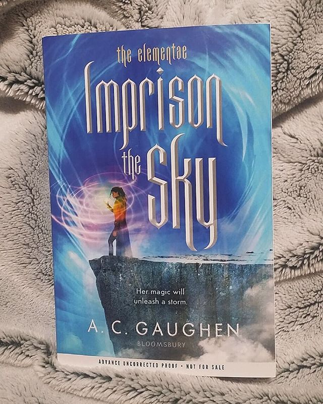 YAAAASSSS!!! Thank you so much @acgaughen I can't wait to jump back into this world! ❤  #imprisonthesky #reigntheearth #acgaughen
