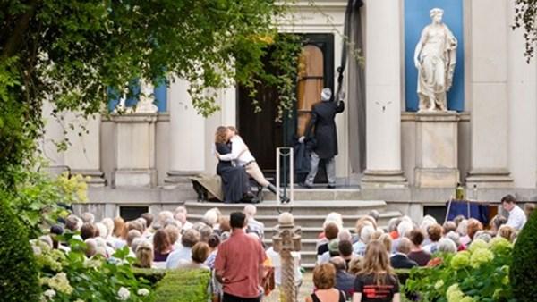 Opera in de tuin van Museum Van Loon Amsterdam