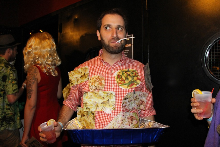 Mashable (Oct. 31, 2014):  35 #HallowMEME costumes more intense than your Internet addiction  (I went as potato salad)