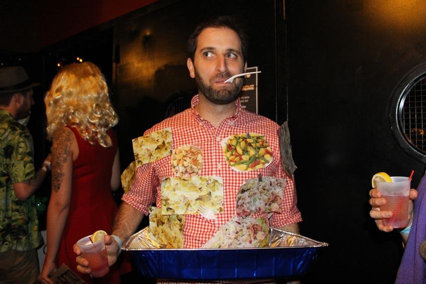 Mashable (Oct. 31, 2014):  35 #HallowMEME costumes more intense than your Internet addiction  (I went as potato salad)