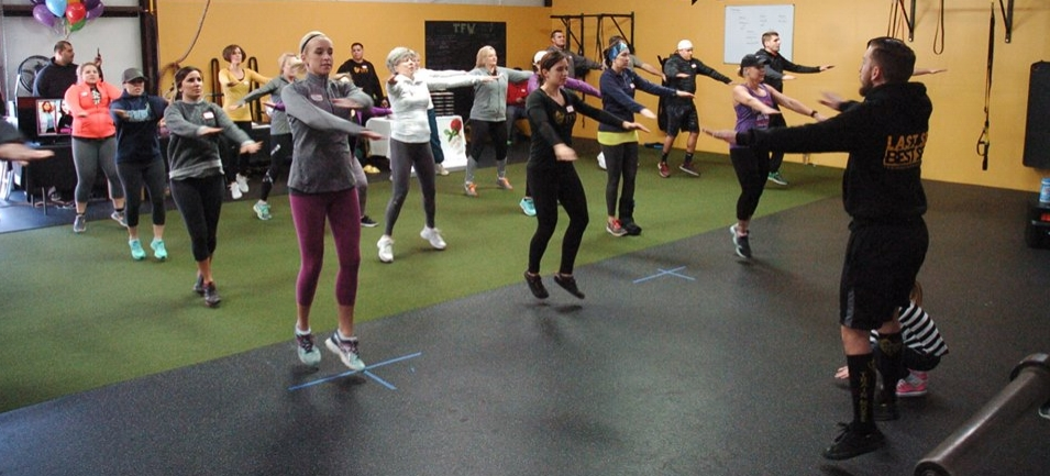 At TFW Visalia we do 3 main variations of jumping jacks during a majority of our warm ups.