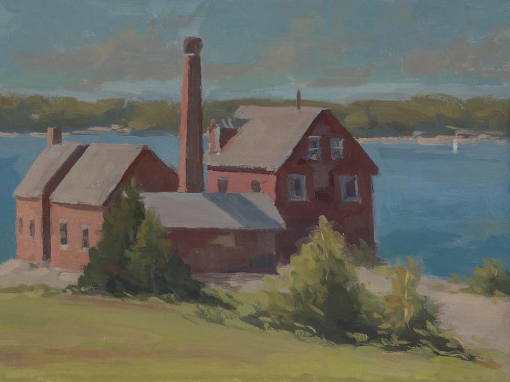 Paint Factory, Gloucester | 9 x 12