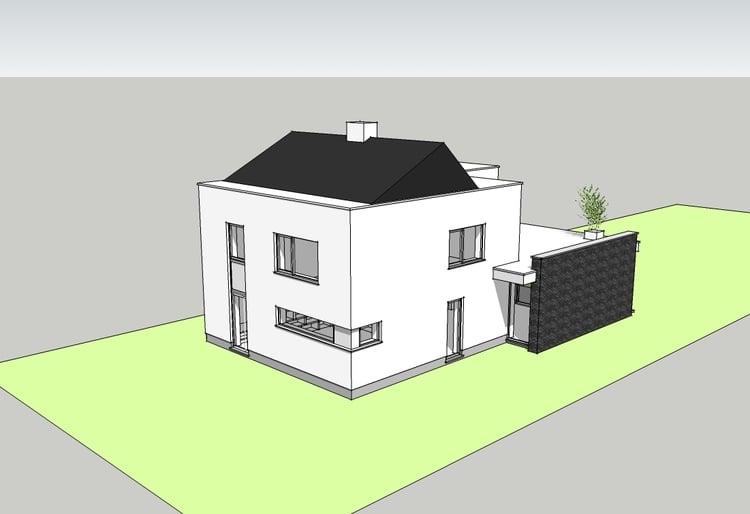 Complete transformatie van een jaren 50 woning u2014 architect jo van
