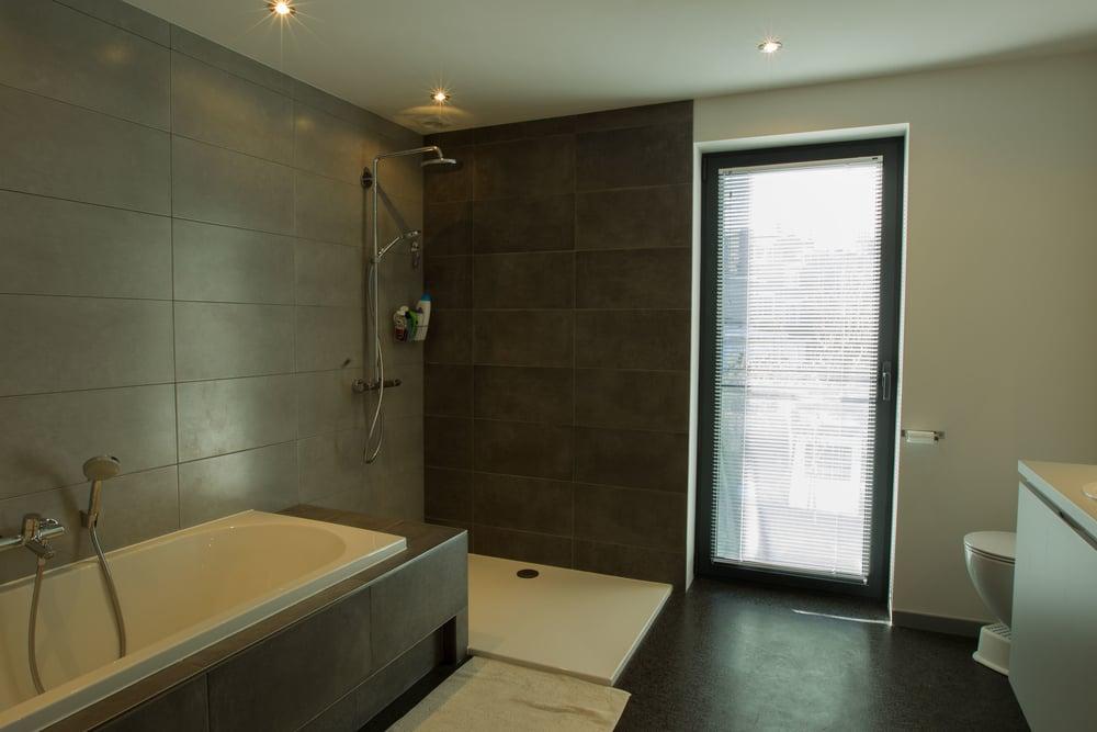 Kleine Praktische Badkamer : Project bjj u2014 architect jo van rossem
