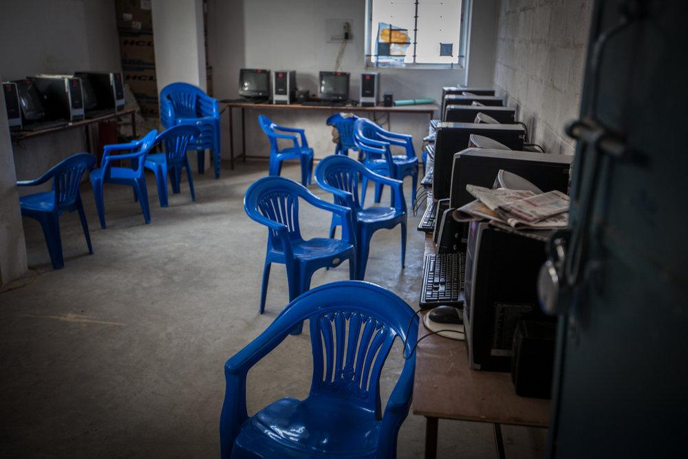 Computer lab, Bengaluru, India